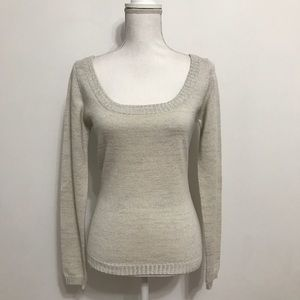 Alvin Valley 100% Cashmere U-Neck Sweater